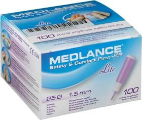 eu-medical Medlance plus Lite 25G Lanzetten, 100 Stück