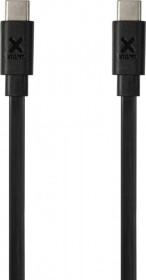 Xtorm Flat USB-C PD Cable 1.0m schwarz (CF071)