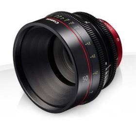 Canon CN-E 50mm T1.3 L F black