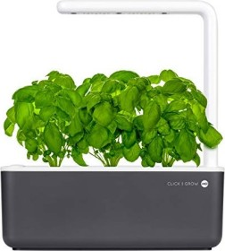 Emsa Smart Garden 3 Click & Grow Indoor Pflanzkasten grau
