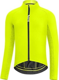 Gore Wear C5 Thermo Trikot langarm neon yellow/citrus green (Herren)