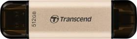 Transcend JetFlash 930C 512GB, USB-C 3.0/USB-A 3.0 (TS512GJF930C)