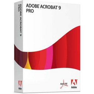 Adobe: Acrobat 9.0 Professional, update from Pro (English) (PC) (22020762)