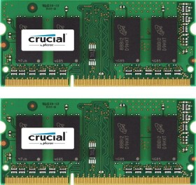 Crucial SO-DIMM Kit 16GB, DDR3L-1866, CL13 (CT2KIT102464BF186D)