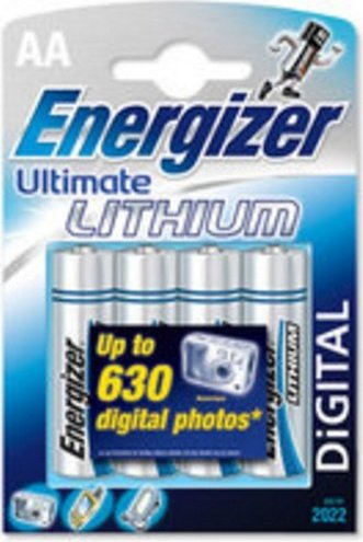 Energizer e2 Lithium AA, 1.5V -- via Amazon Partnerprogramm