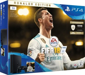Sony PlayStation 4 Slim - 1TB FIFA 18 Bundle schwarz
