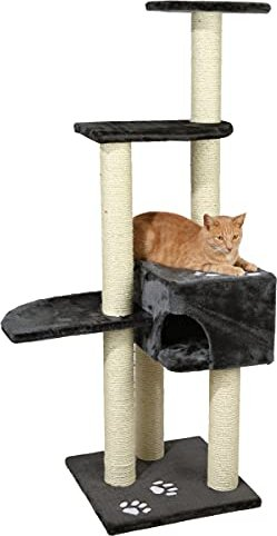 Trixie cat tree Alicante 142cm anthracite (43861) -- via Amazon Partnerprogramm