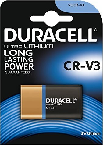 Duracell Ultra M3 CR-V3, Lithium, 3V -- via Amazon Partnerprogramm