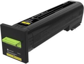 Lexmark Return Toner 72K2XY0 gelb extra hohe Kapazität