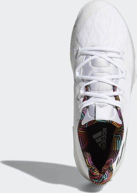 adidas Crazylight Boost 2018 ftwr whitegrey onegrey three