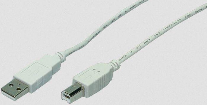 LogiLink USB-A 2.0 [Stecker] auf USB-B 2.0 [Stecker], 3.0m (CU0008)