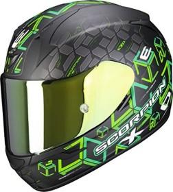 Scorpion EXO-390 Solid schwarz matt (verschiedene Größen)