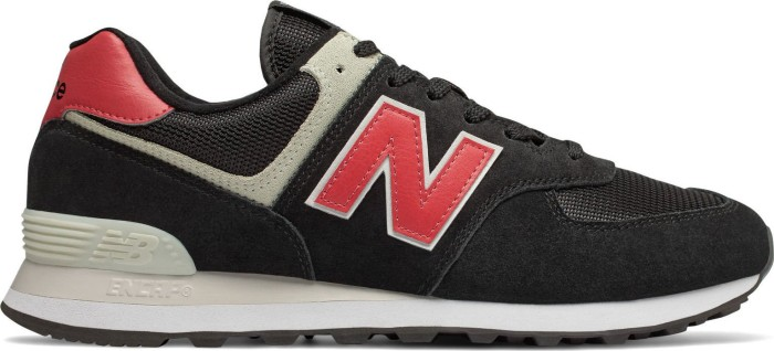 the latest 63c54 48075 New Balance 574 black/pomelo (ML574SMP) from £ 51.79