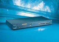 D-Link DES-3208, 8x10/100Mbps, 1xUplink, Rackmounting