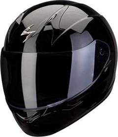 Scorpion EXO-390 Solid schwarz (verschiedene Größen)
