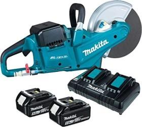 Makita DCE090T2X1 cordless angle grinder incl. 2 Batteries 5.0Ah