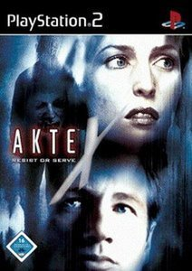 Akte X: Resist or Serve (deutsch) (PS2)