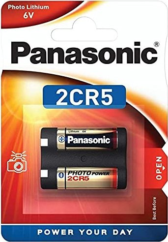 Panasonic Photo 2CR5 sztuk 1, litowa, 6V (2B242599) -- via Amazon Partnerprogramm