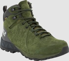 Jack Wolfskin Cascade Hike LT Texapore Mid dark moss/phantom (Herren) (4035461-5102)