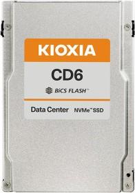 KIOXIA CD6-R Data Center Read Intensive SSD 7.68TB, SED, U.3 (KCD6DLUL7T68)