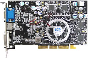 Sapphire Atlantis Radeon 9500, 64MB DDR, DVI, TV-out, AGP