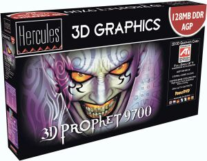 Guillemot / Hercules 3D Prophet 9700, Radeon 9700, 128MB DDR, DVI, TV-out, retail (4780247)