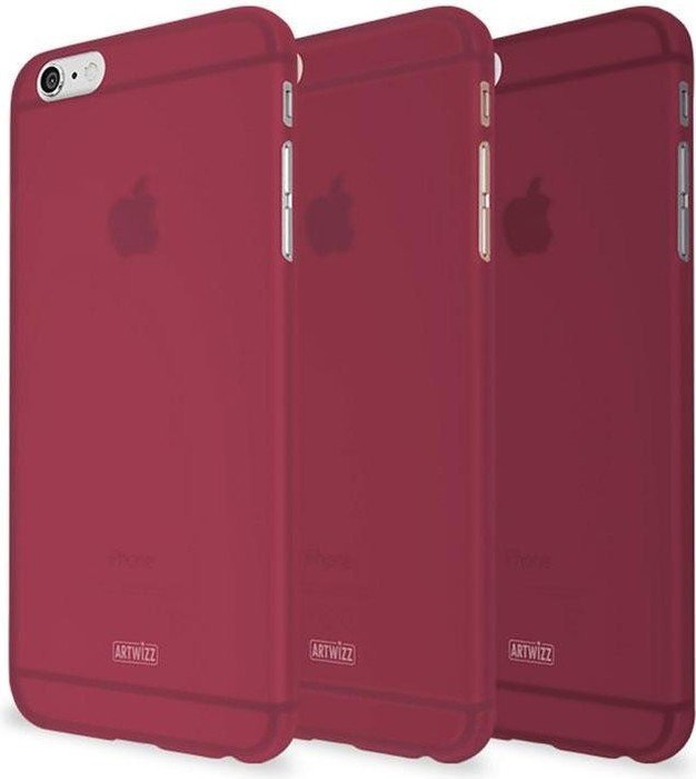 Artwizz Rubber Clip für iPhone 6/6s rot (7860-1554)