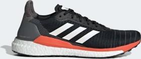 adidas Solar Glide 19 core black/cloud white/solar orange (Herren) (G28062)