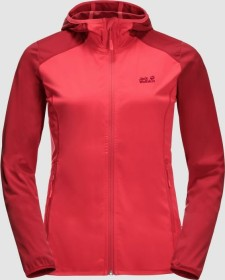 Jack Wolfskin Hydro Hooded Light Jacke tulip red (Damen) (1708651-2058)