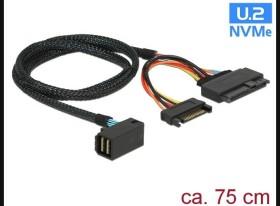 """DeLOCK U.2 miniSAS HD -> U.2 2.5"""" (84822)"""