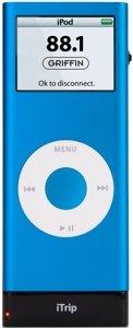 Griffin iTrip nano für iPod nano 2G FM-Transmitter (9690-NANOTRIP2)