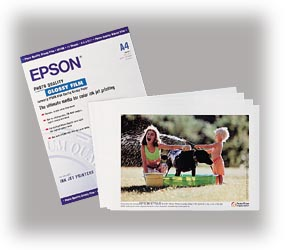 Epson S041071 photo paper A4, 180g, 15 sheets