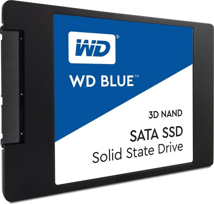 Western Digital WD Blue 3D NAND SATA SSD 500GB, SATA [2017] (WDS500G2B0A)