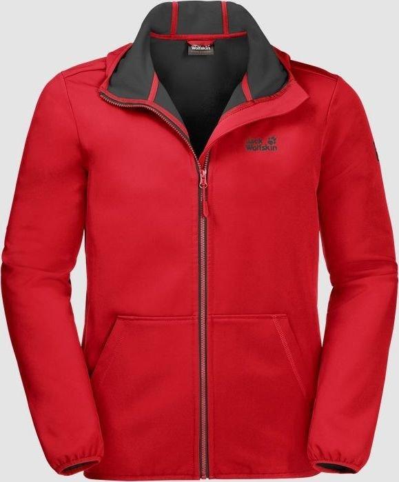 3a34756dc0 Jack Wolfskin Essential peak Jacket peak red (men) (1305821-2015 ...