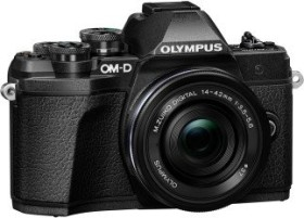 Olympus OM-D E-M10 Mark III schwarz mit Objektiv M.Zuiko digital 14-42mm EZ (V207072BE000)