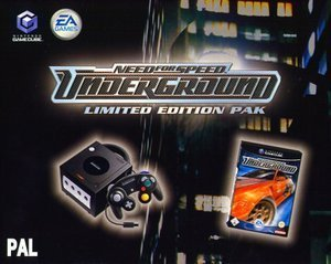 Nintendo GameCube + Need For Speed Underground Bundle (GC)