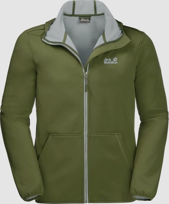 f53d0738fc Jack Wolfskin Essential peak Jacket cypress green (men) (1305821-4521)