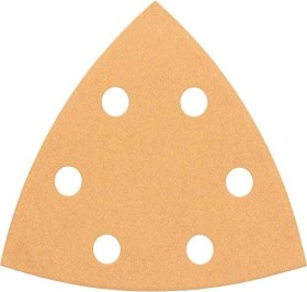 Bosch delta sanding sheet C470 Best for Wood and Paint 93mm K40, 5-pack (2608605148)