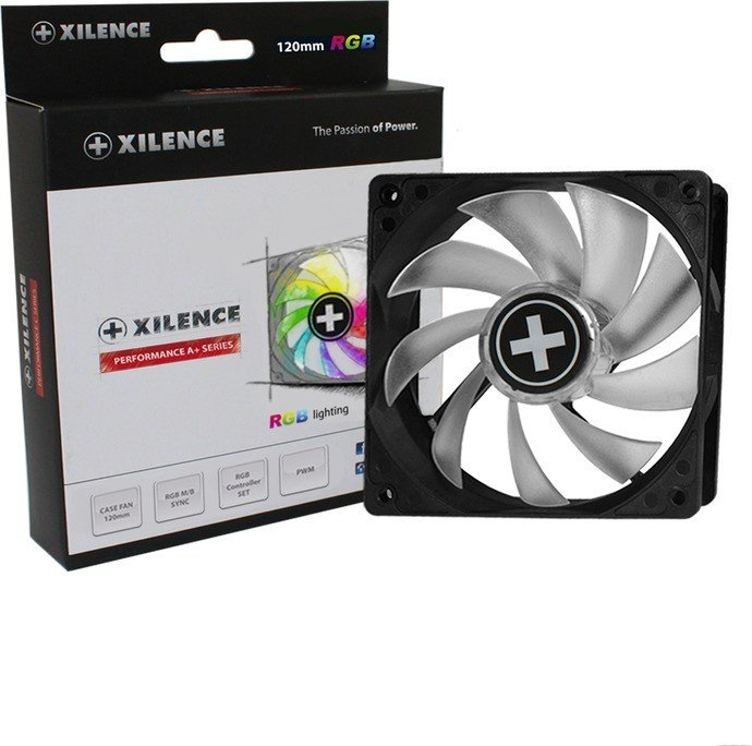 Xilence Performance A+ RGB, 120mm, set with remote control (XF061)