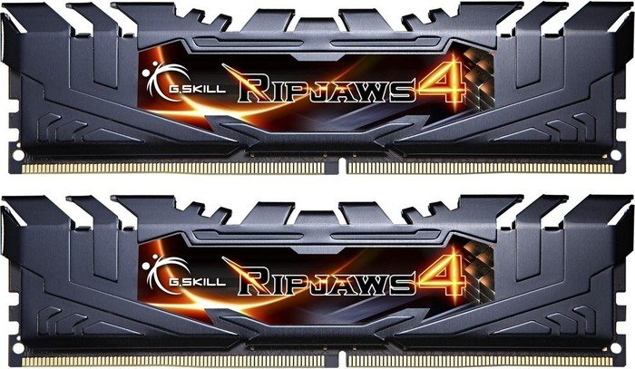 G.Skill RipJaws 4 black DIMM kit 16GB, DDR4-3000, CL15-15-15-35 (F4-3000C15D-16GRK)