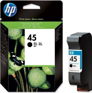 HP Printhead with ink Nr 45 black 42ml (51645AE)