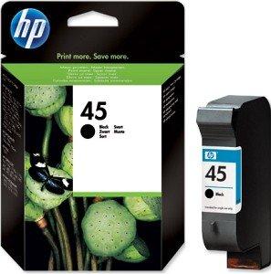 HP 45 Druckkopf mit Tinte schwarz 42ml (51645AE)