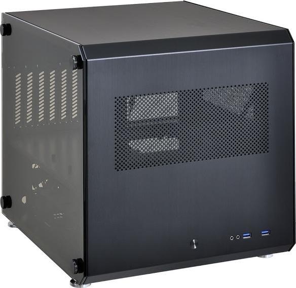 Lian Li PC-V33WX czarny, szklane okno