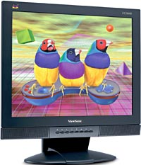 "ViewSonic VG900b, 19"", 1280x1024, analog/digital, schwarz"