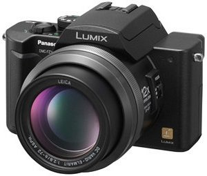 Panasonic Lumix DMC-FZ10 Schwarz (diverse Bundles)