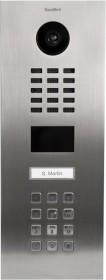 DoorBird D2101KV IP Video door terminal with 1 call button, Keypad module, stainless steel V4A, brushed, incl. flush housing (D2101KV-V4A)
