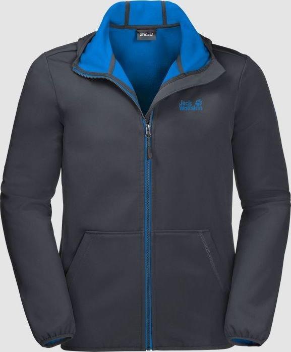 6ee88ae9ec Jack Wolfskin Essential peak Jacket ebony (men) (1305821-6230 ...