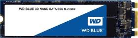 Western Digital WD Blue 3D NAND SATA SSD 500GB, M.2 (WDS500G2B0B)