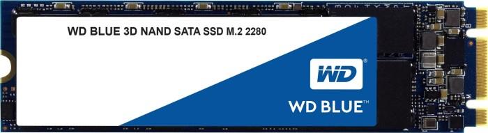 Western Digital WD Blue 3D NAND SATA SSD 500GB, M.2 [2017] (WDS500G2B0B)