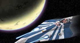 Revell Star Wars Plo Koon's Jedi Starfighter easykit (06689)